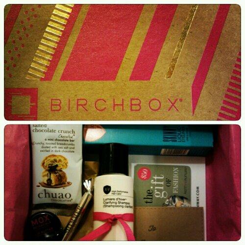 Birchbox No. 2: Number 4, Aerie, Mox Botanicals, Eyeko & Chuao