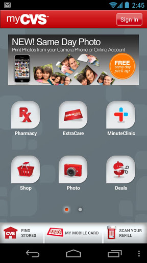 CVS Mobile App (Image form Google Play Store)