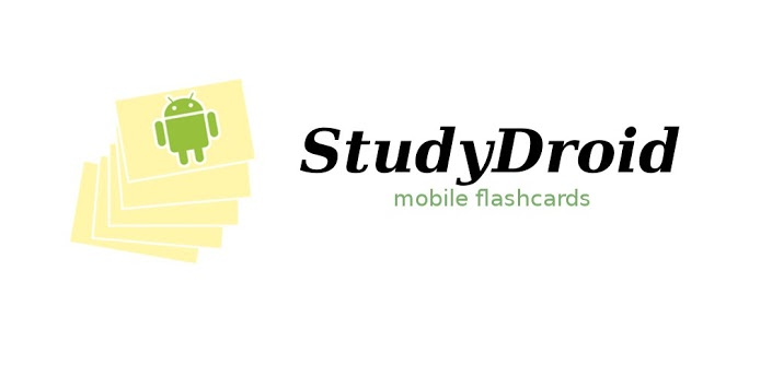 StudyDroid Mobile Flashcards (Image courtesy of Google Play Store)