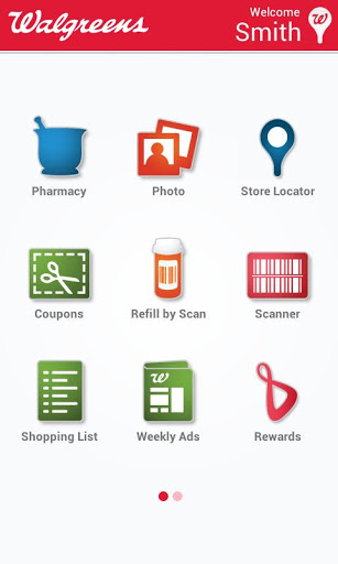 Walgreens Mobile App (Image from Google Play Store)