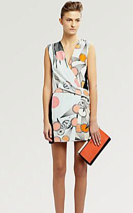 Diane von Furstenberg Jamie Silk Dress | On sale for $278.60 | Image courtesy of Saks