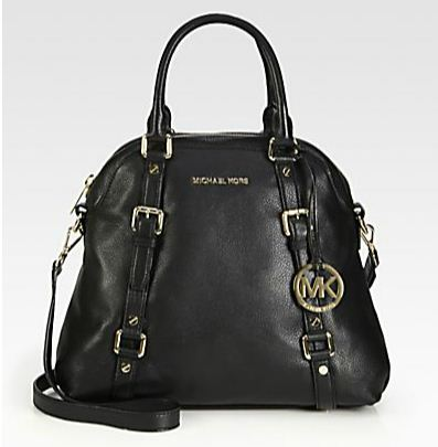 Michael Michael Kors Large Bedford Bowler Bag | $398 | Image courtesy of Saks