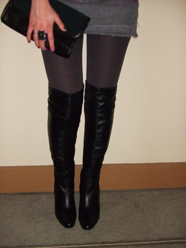 Styling Luichiny | Over-the-knee boots for beginners