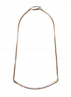 Bronze Bar Necklace - Hazel2Blue
