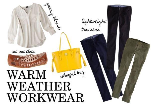 Get It Together: Warm Weather Workwear