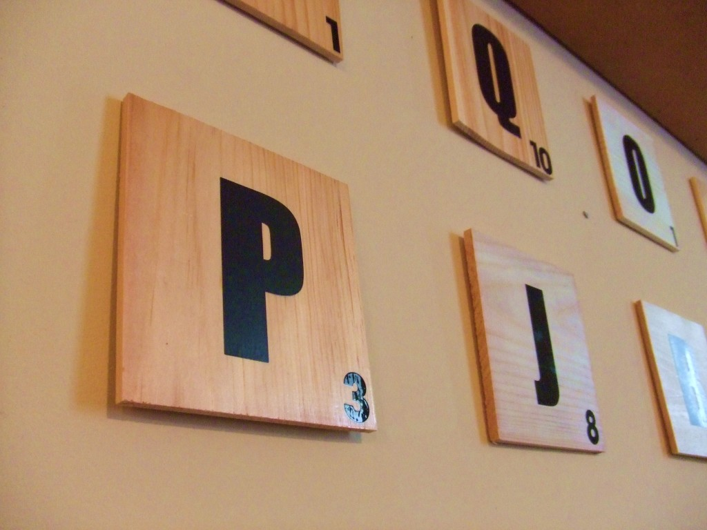 Weekend Diy Jumbo Scrabble Tile Wall Art Made Easy Oh