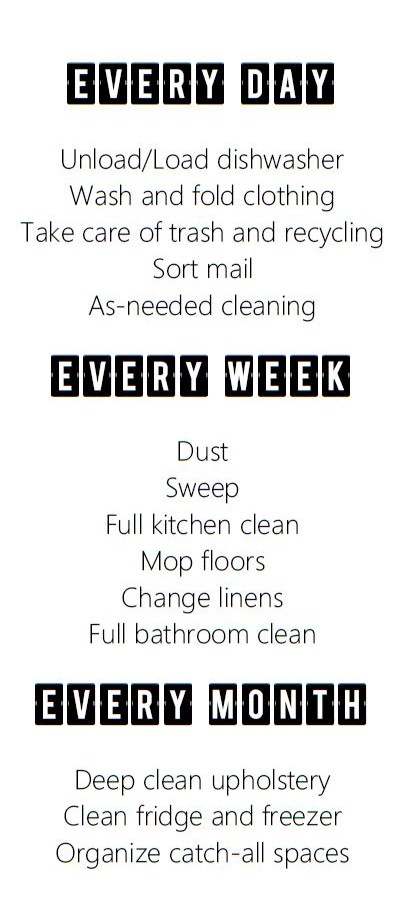 Get It Together Apartment Cleaning Free Cleaning