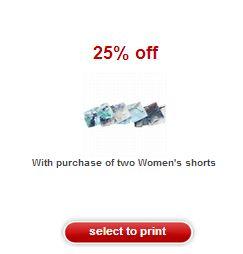 Target Shorts Coupon