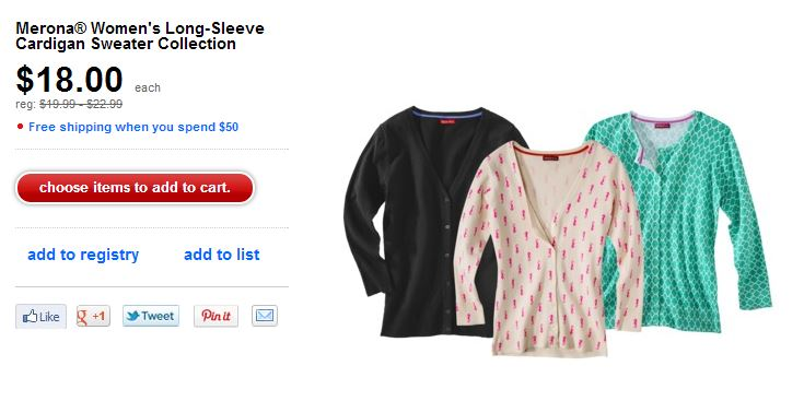 Target Sweaters