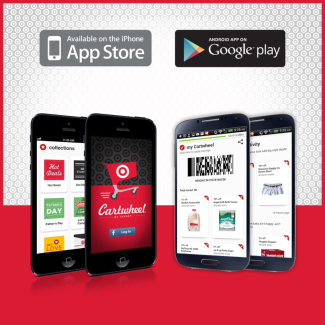 Save, Save, Save! | How to pair Target's new Cartwheel app with other coupons, etc.