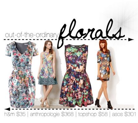 Obsessing: Frenzy of Floral Dresses