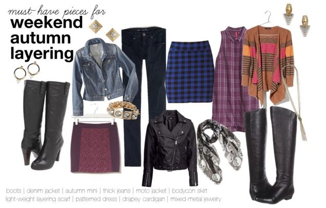 Prep the closet: Must-haves for weekend autumn layering