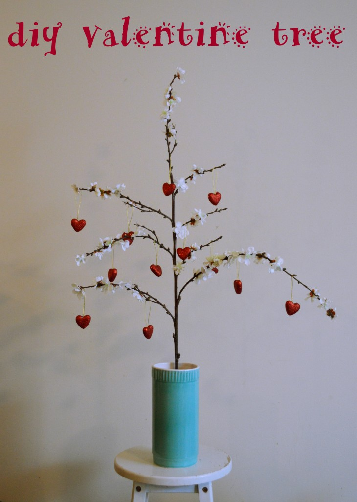 diy valentines day tree - 1