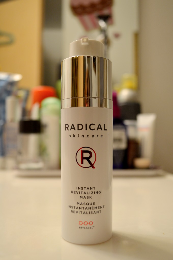 Product Review: Radical Skincare Instant Revitalizing Mask