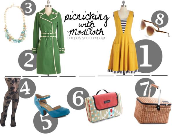 Let's Picnic!   ModCloth's Uniquely You Campaign