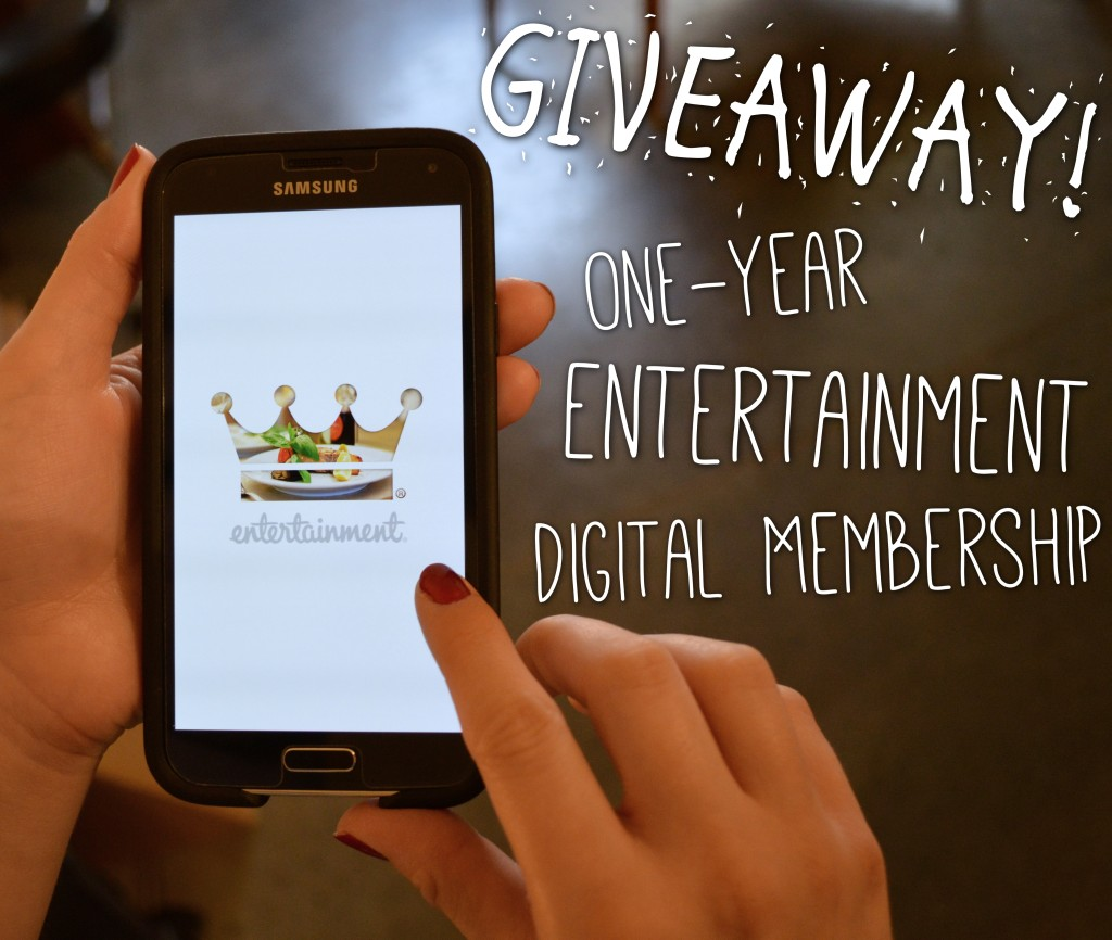 Coupon crazed? | Giveaway: One-Year Entertainment Digital Membership ($20 Value)