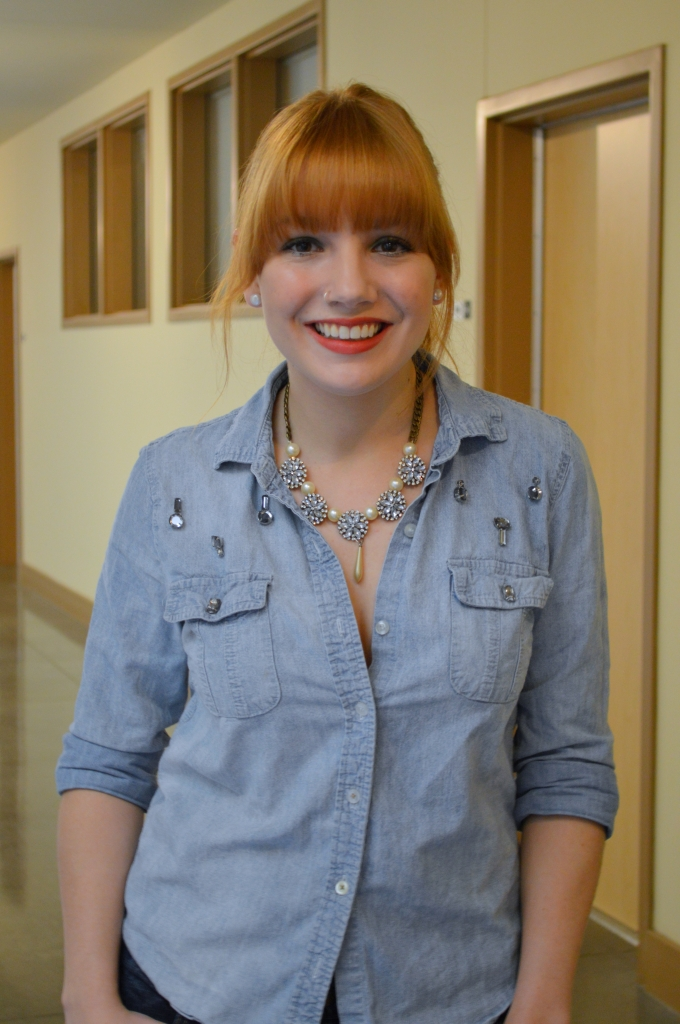 DIY Rhinestone Chambray Shirt (2)