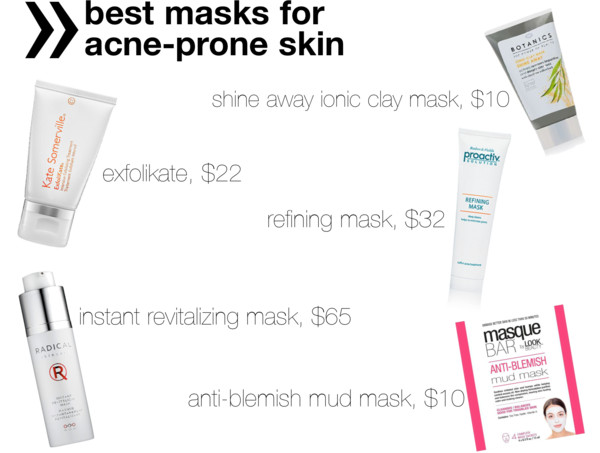 Screw You, Acne! | The Best Face Masks for Acne-Prone Skin