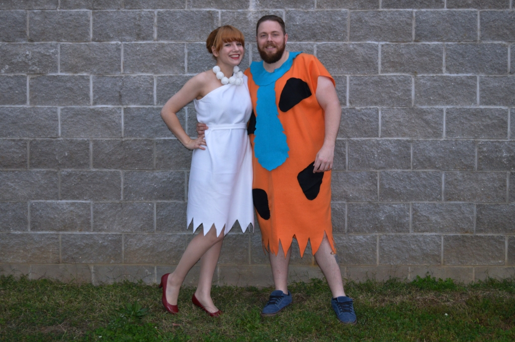 the flintstones - fred and wilma - diy costume (3)