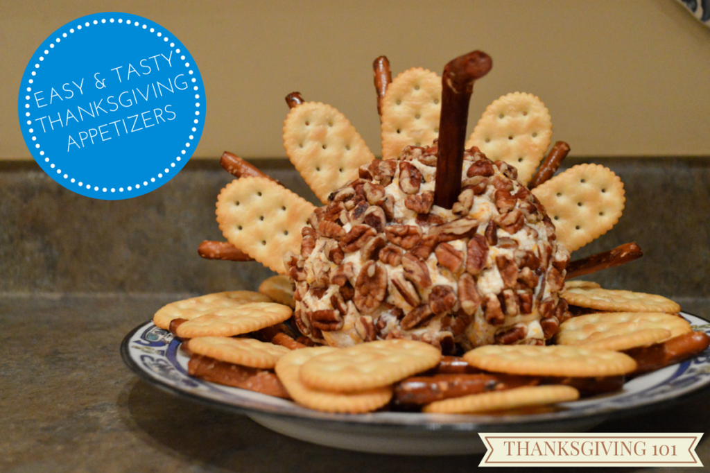 Easy DIY Thanksgiving Appetizer Turkey Cheese Ball (4)