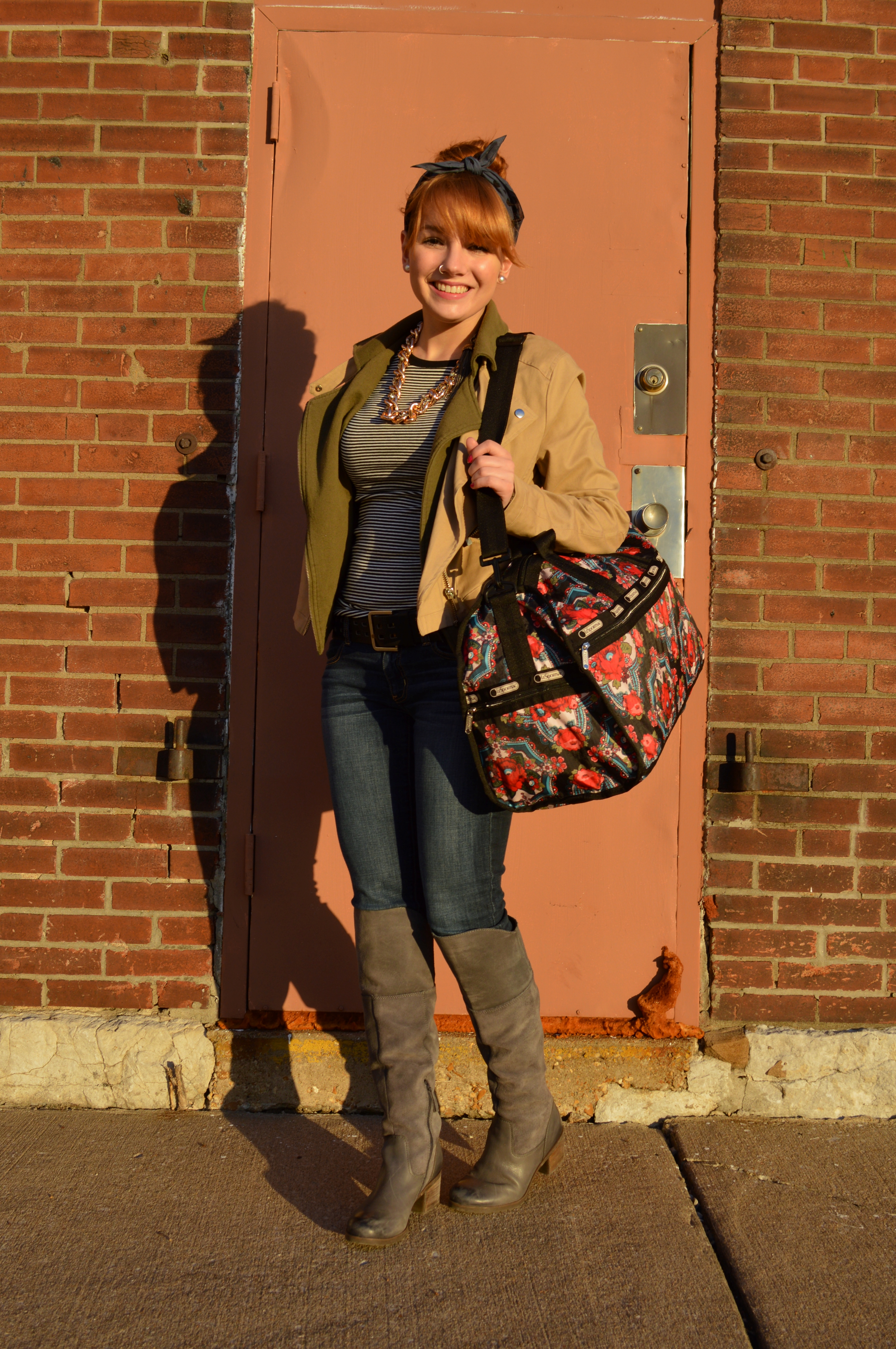 Lesportsac Travel Style Weekender Bag 3