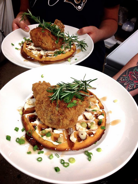 Hiro Koren Fried Chicken & Waffles
