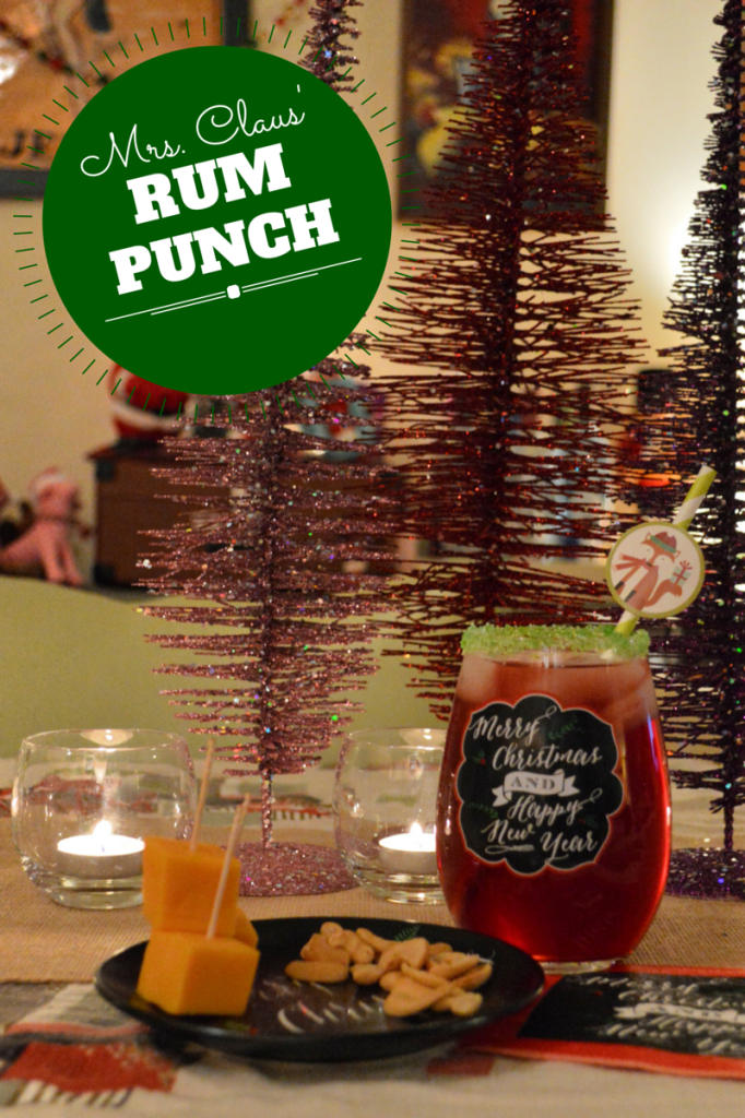 holiday rum punch recipe