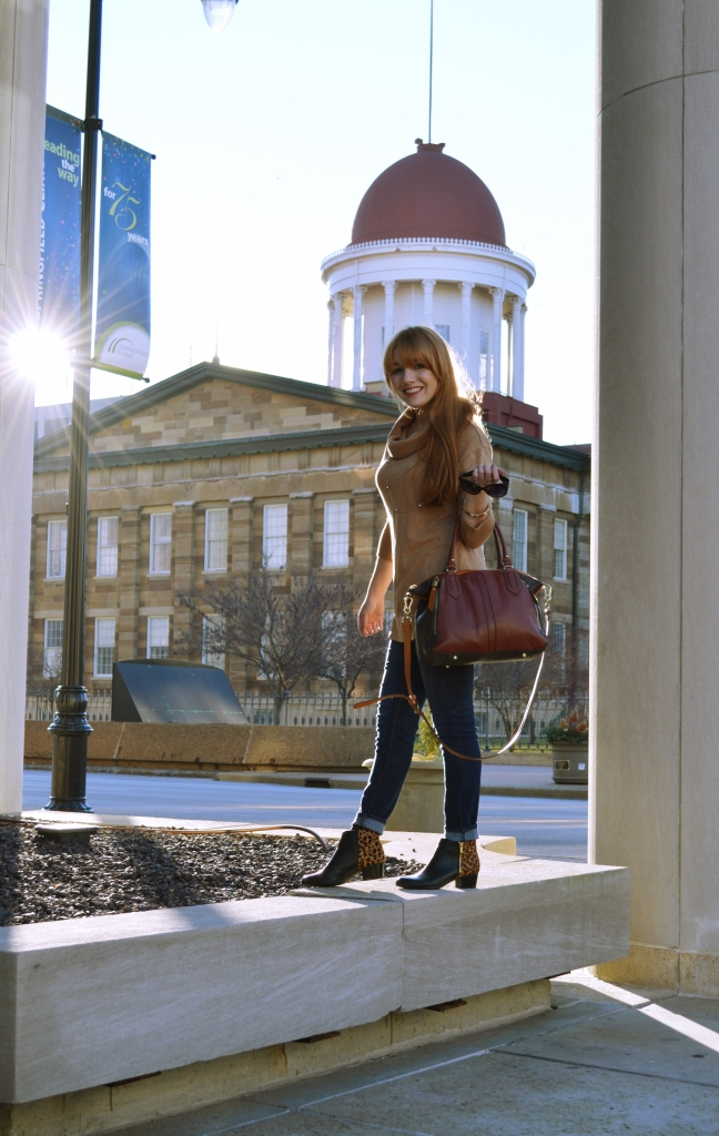 The Booties to Beat All Booties (And a brief guide to visiting Springfield, Ill.)
