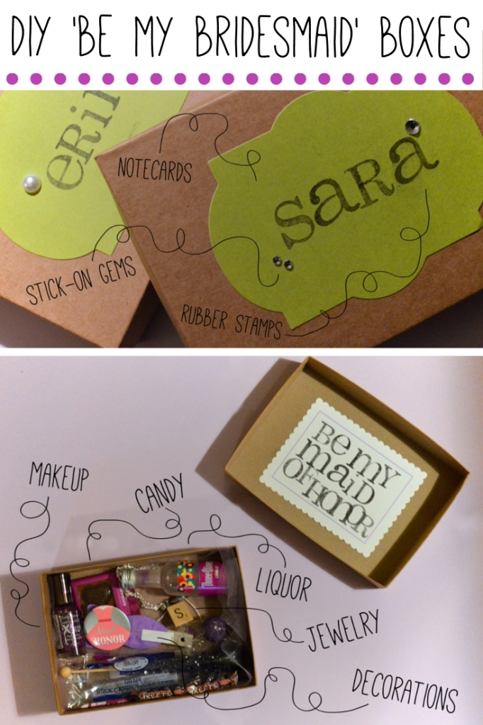 Wedding Wednesday | DIY 'Be My Bridesmaid' Boxes