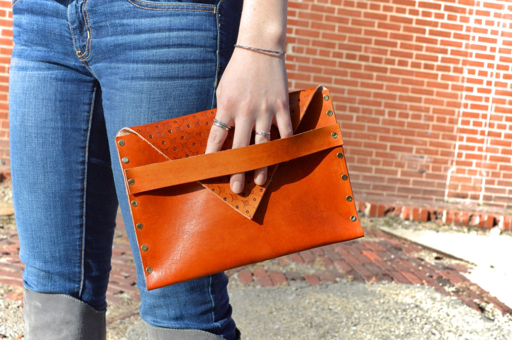 Dabble Review - DIY Leather Clutch - STL (1)