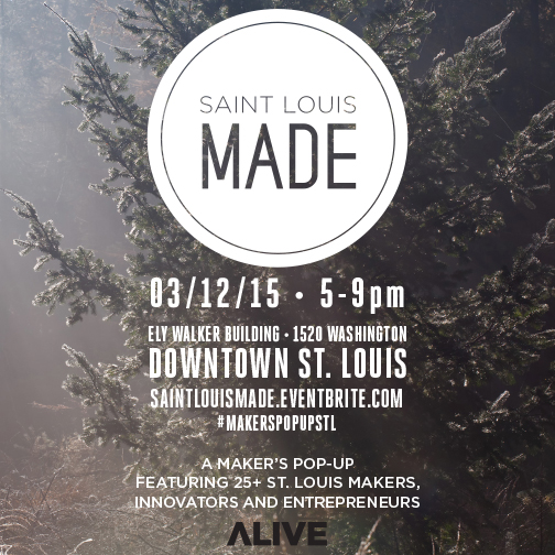 Thursday! Free! #MakersPopUpSTL!