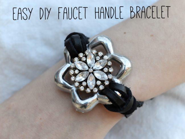 Hardware Store Jewelry | Easy, DIY Faucet Handle Bracelet