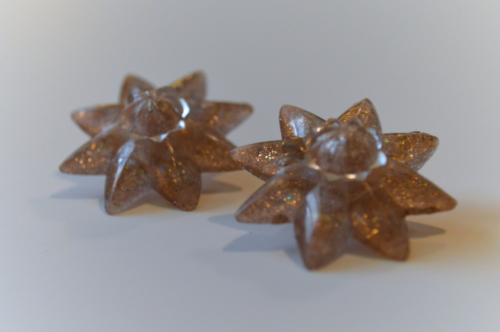 diy rosette mirror clips hardware store earrings (5)