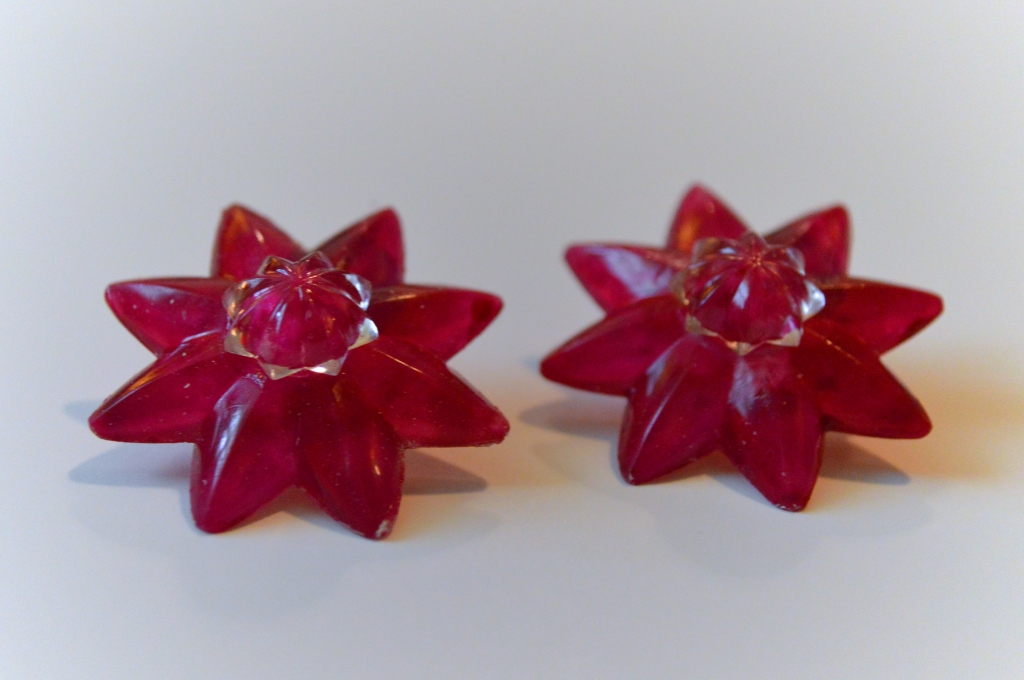 diy rosette mirror clips hardware store earrings (6)