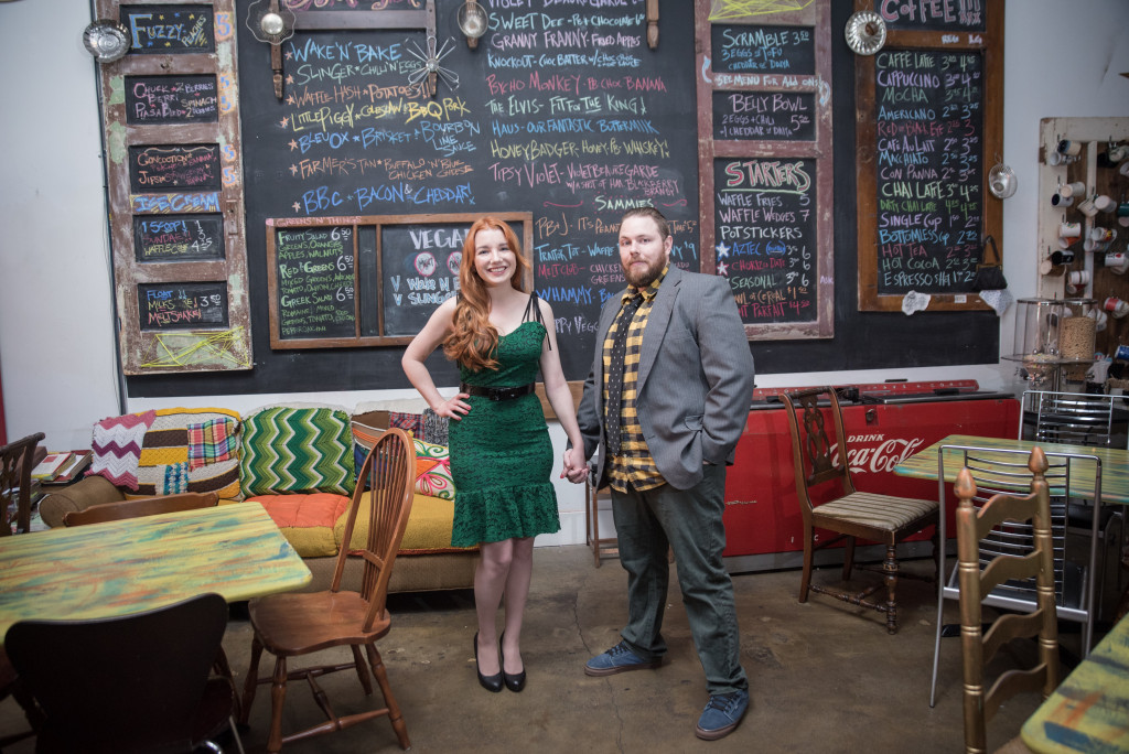Oh Julia Ann - Retro Arcade Engagement Photos at Melt in St Louis - by Chameleon Imagery Lillian Peters  (1)