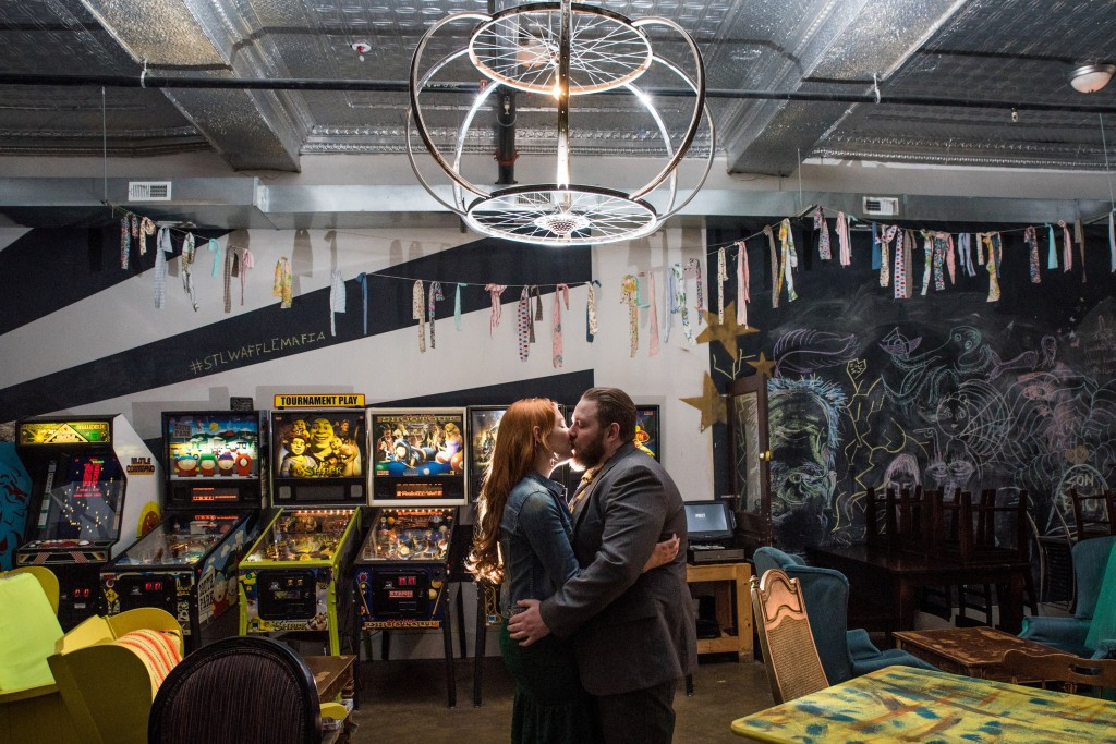 Oh Julia Ann - Retro Arcade Engagement Photos at Melt in St Louis - by Chameleon Imagery Lillian Peters  (16)