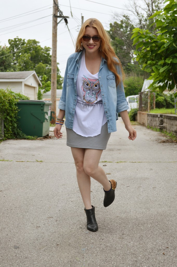 OhJuliaAnn.com - Gordmans Bohemian Summer Outfit with Owl Tee (3)