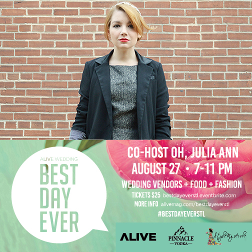 Wedding Wednesday: Join me at #BestDayEverSTL!