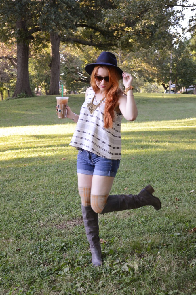 madewell top with naturalizer naya boots and free people thigh high socks - ohjuliaann.com (4)