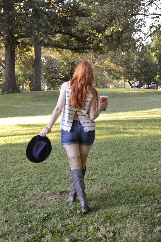 madewell top with naturalizer naya boots and free people thigh high socks - ohjuliaann.com (5)