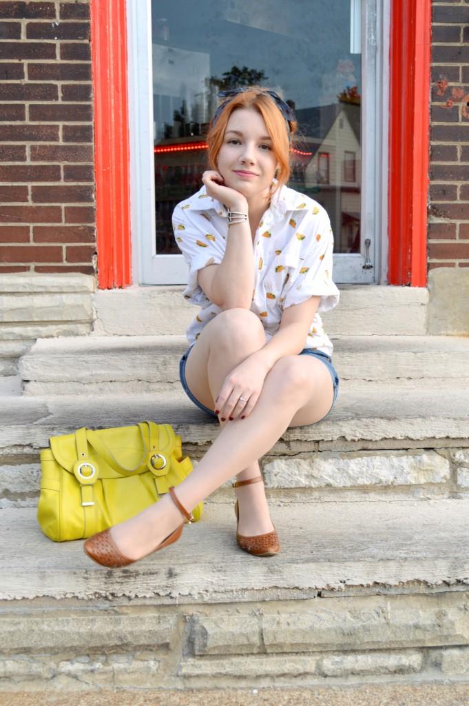 Taco Shirt at Taco Circus St Louis - Oh Julia Ann Outfit