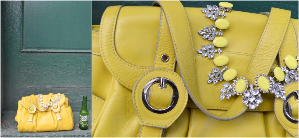 cs gems citrus outfit statement necklace denim - oh julia ann (3)