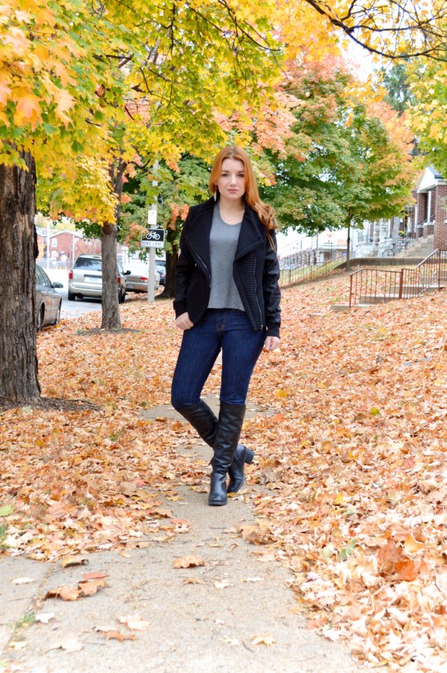 From Weekend to Workout | Dimvaloo Active Living & My Jacket Obsession