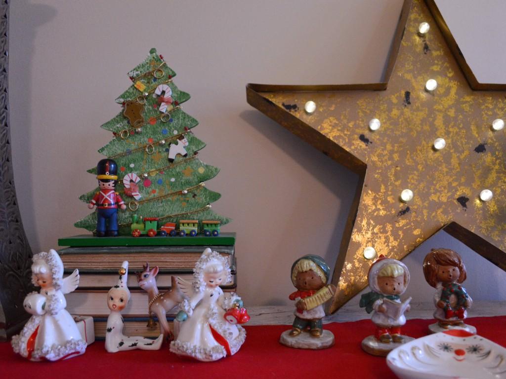retro vinitage christmas dinner party table holiday decor - oh julia ann (6)