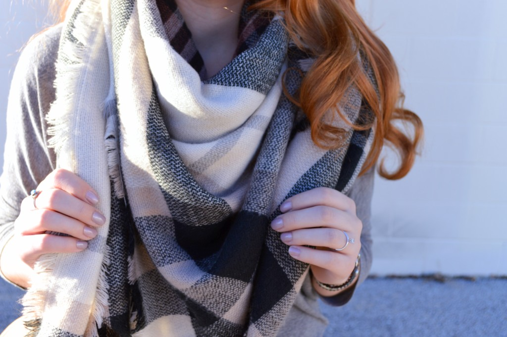 Blanket Scarf with Victoria Emerson Wrp Bracelet Outfit - Oh Julia Ann (3)
