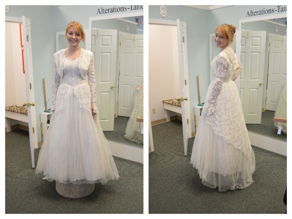 Oh Julia Ann - Vintage Wedding Gown - Before