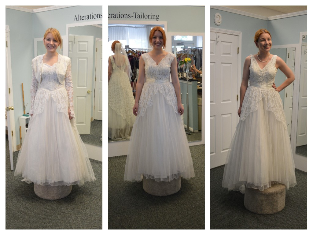 Oh Julia Ann - Vintage Wedding Gown Transformation