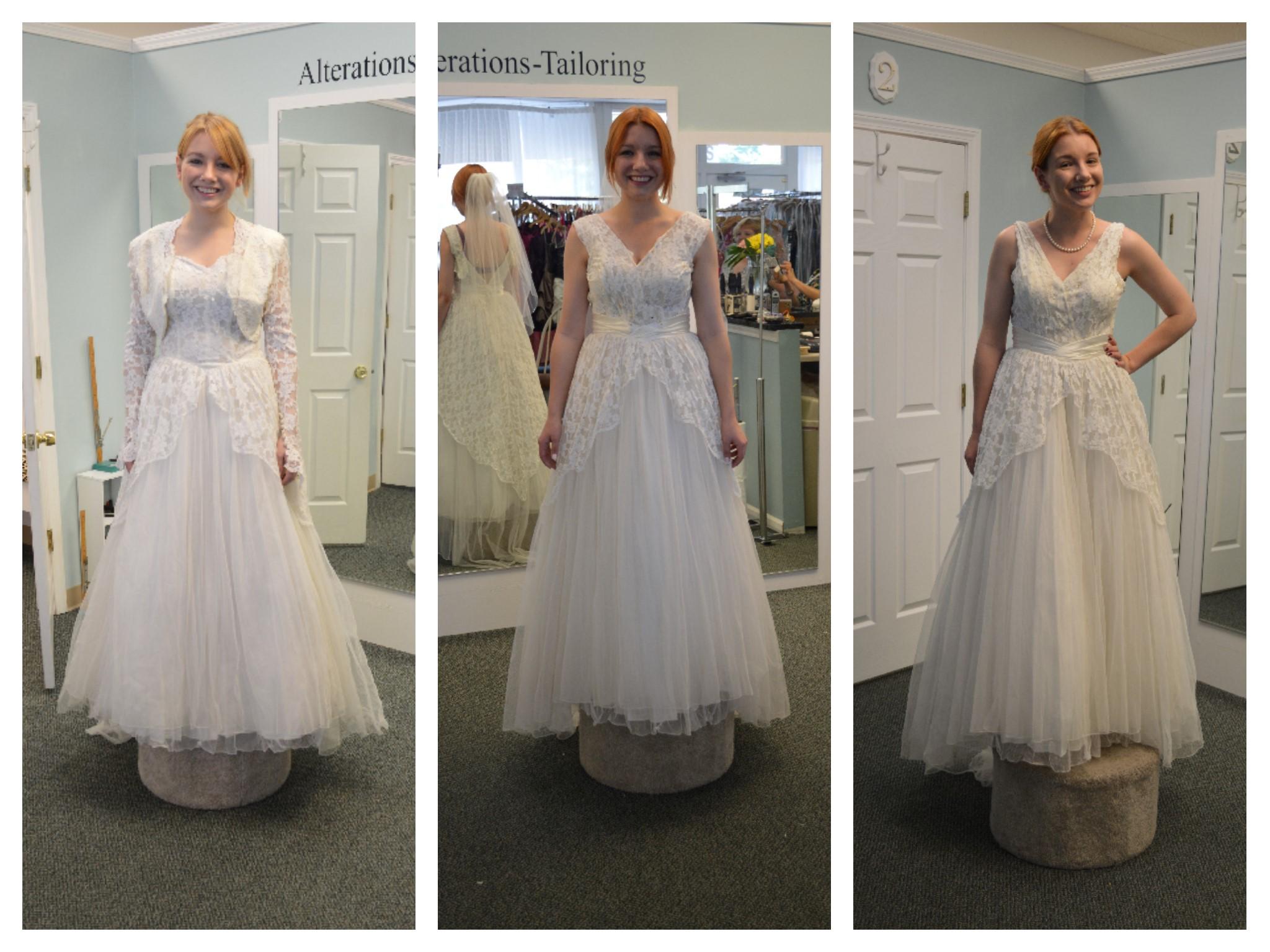 Transforming My Grandmother S Wedding Dress Oh Julia Ann