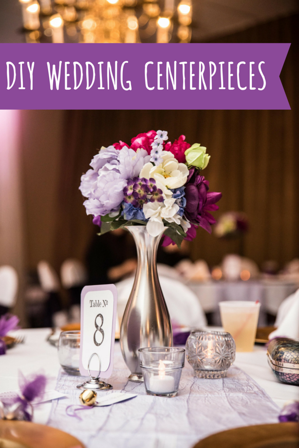 Inexpensive DIY Wedding Centerpieces