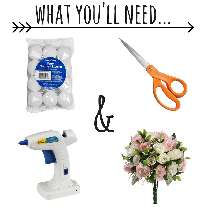 What Youll Need - DIY Wedding Centerpieces